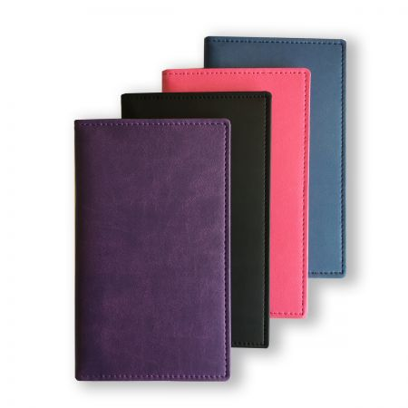 Soft Touch Wallet with Pocket Weekly (Landscape) Irish Diary Insert